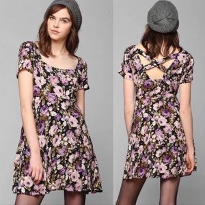 Kimchi Blue Urban Outfitters Floral Dress Boho